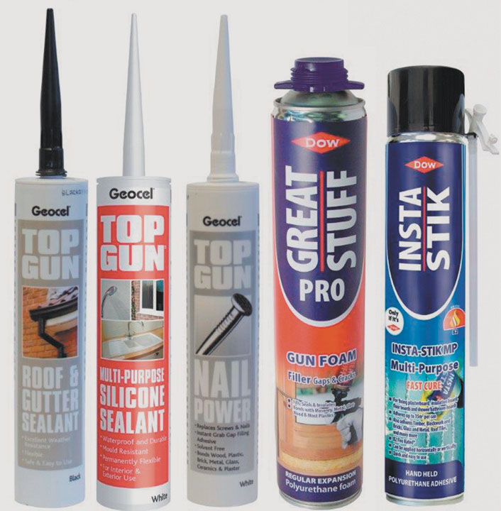 Sealants Adhesives and Building Chemicals