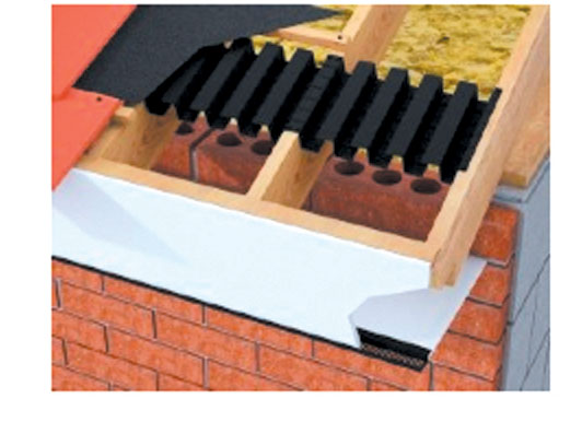 Breathable Roofing Felt And Roof Ventilation Lintels