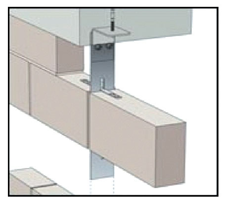 Masonry Support Systems and Windposts