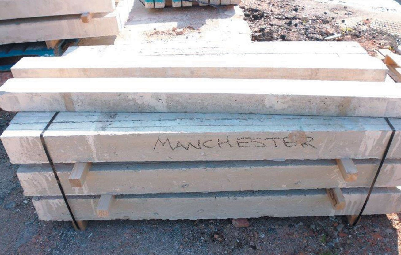 Hi Strength Concrete Lintels