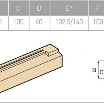 Lintel Northwest Product, part number: 153/T1-40 915/1120